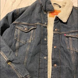Men's Levi Sherpa Denim Jacket